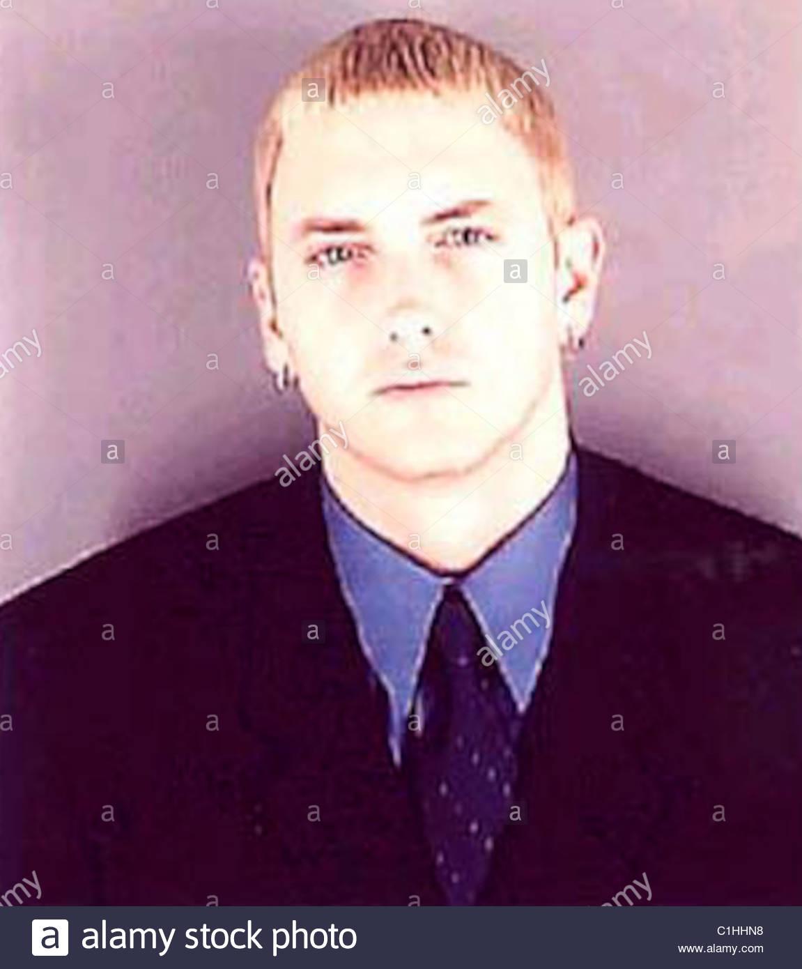 Marshall Mathers Eminem Mugshot - Stock Image