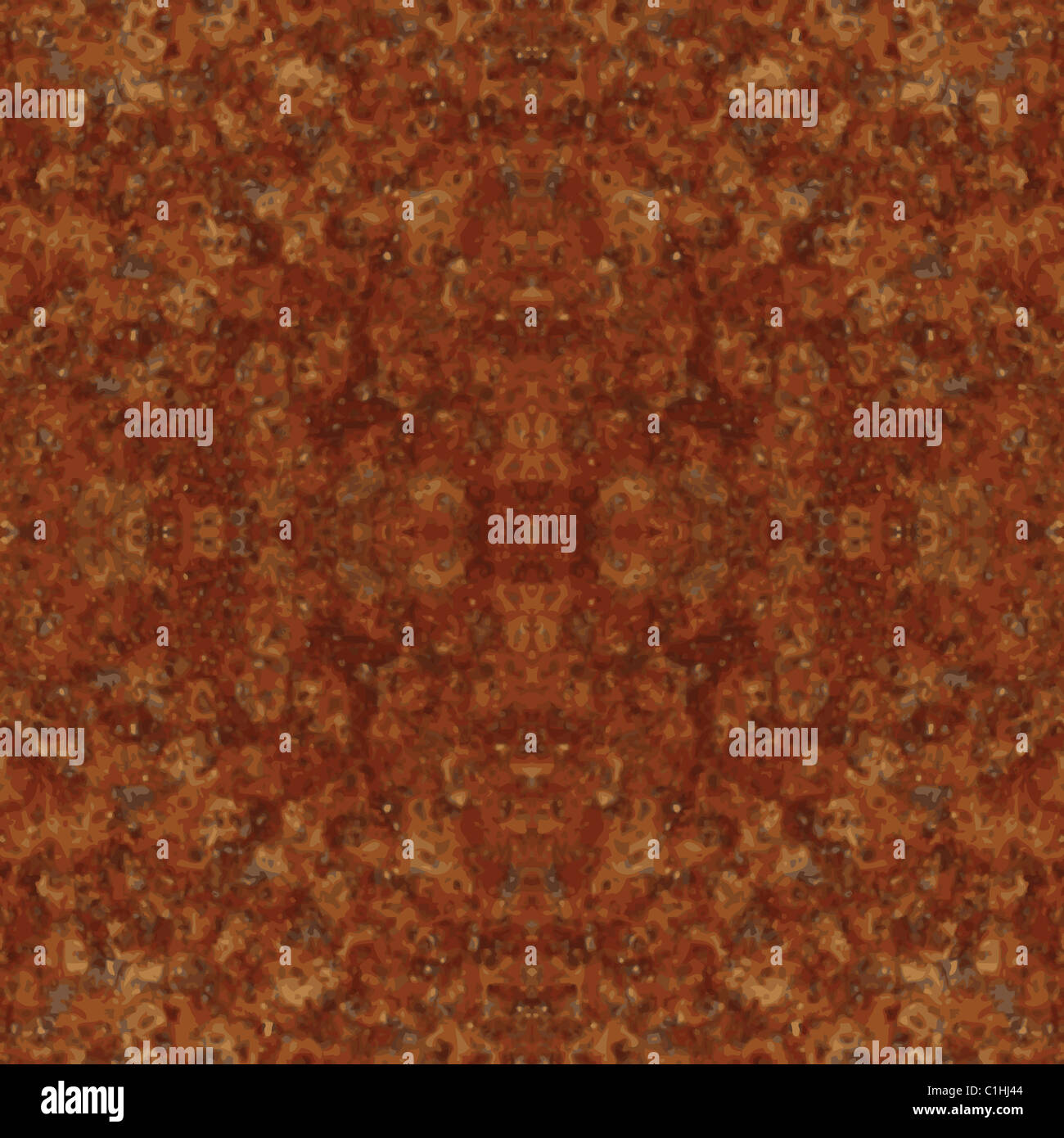 Repeating rust metal texture background - Stock Image