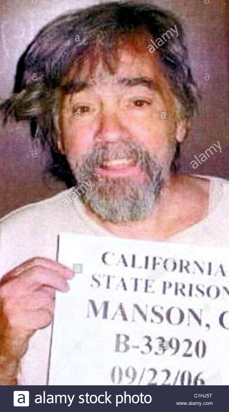Charles Manson Mugshot Stock Photo: 35422852 - Alamy