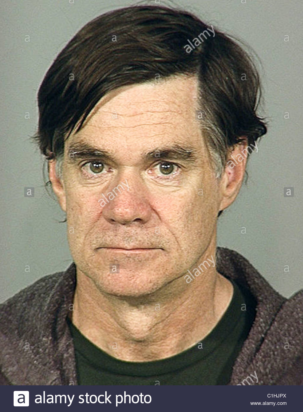 Gus Van Sant Mugshot Stock Photo