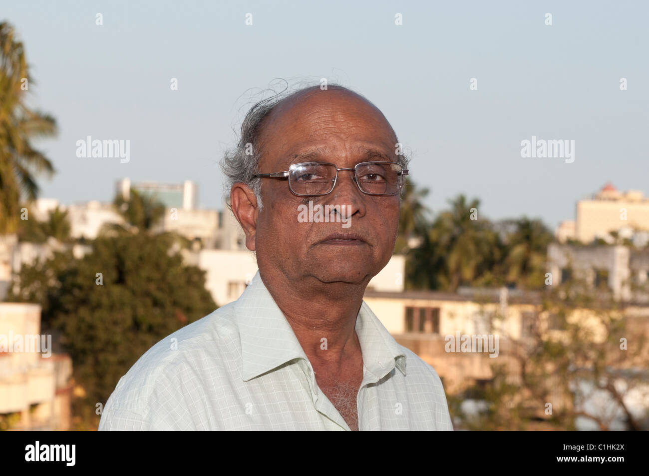 A Senior Indian Man Looking Very Sad Stock Photo 35423554