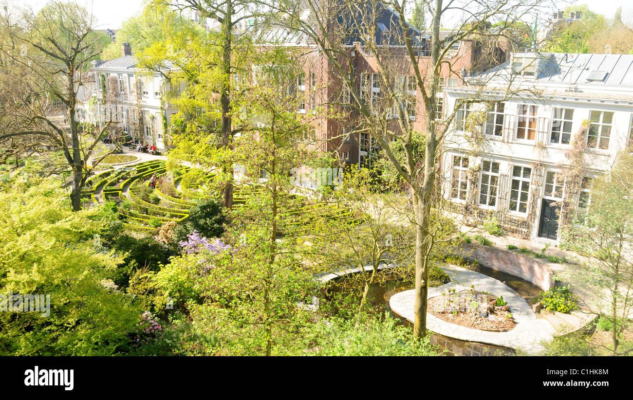 Amsterdam Botanical Gardens Stock Photo