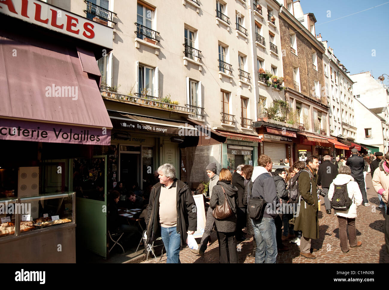 Rue Mouffetard Paris Stock Photos & Rue Mouffetard Paris Stock ...