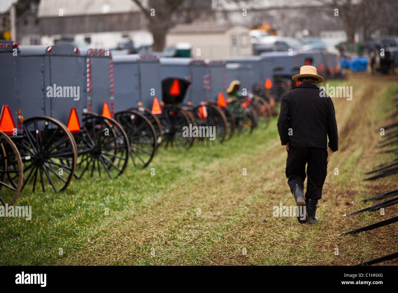 Amish Pennsylvania Stock Photos & Amish Pennsylvania Stock