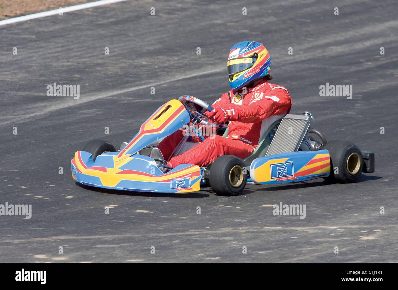 Circuito Karting : Circuito de karting fernando alonso stock photos & circuito de