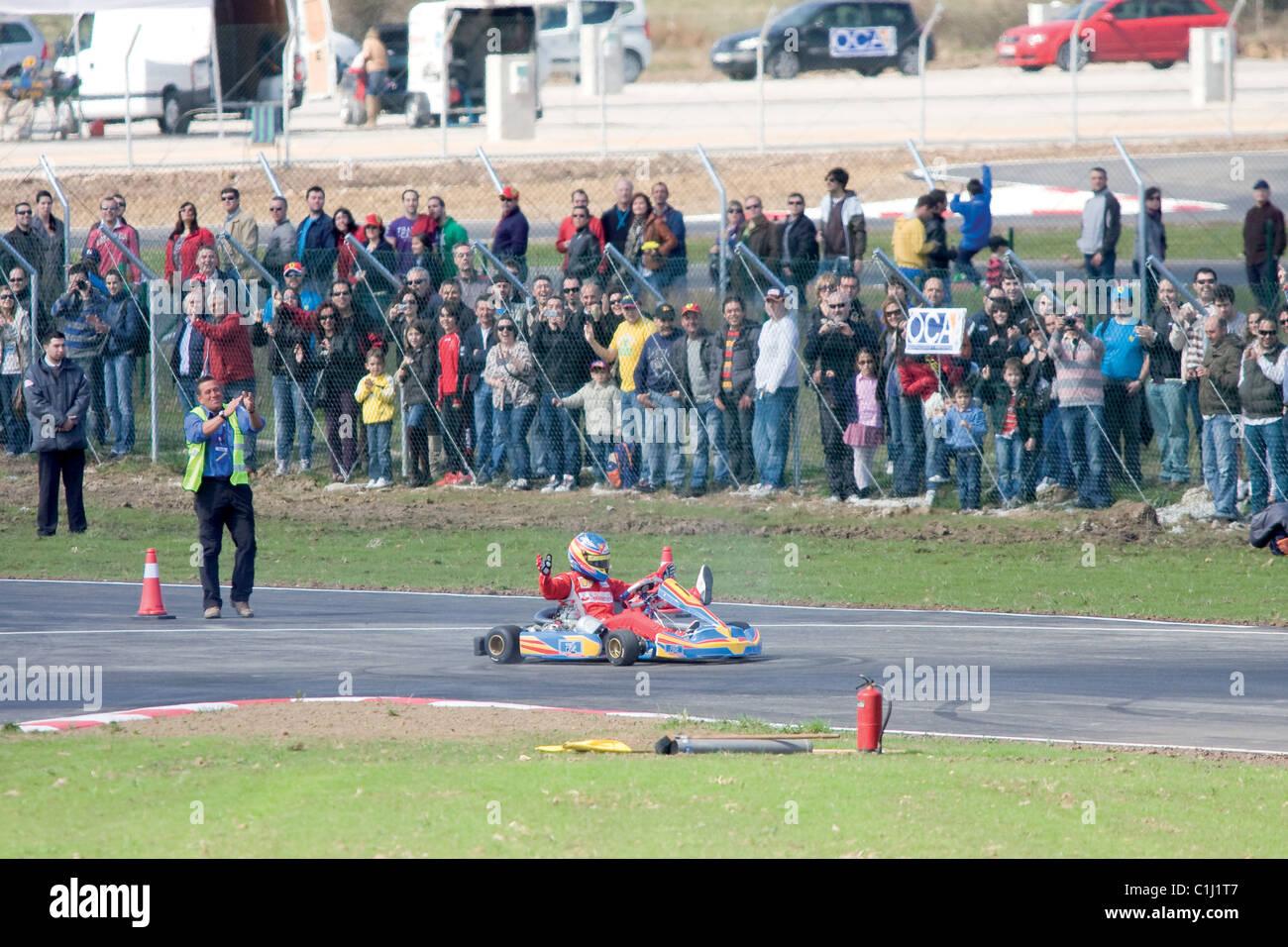 Circuito Fernando Alonso : Circuito de karting fernando alonso prueba de asfalto en la morgal