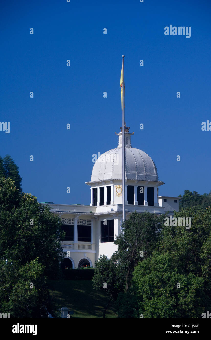 Malaysia, State of Selangor, Kuala Lumpur. The Royal Palace (aka Istana Negara), the official residence of the Malaysia's - Stock Image