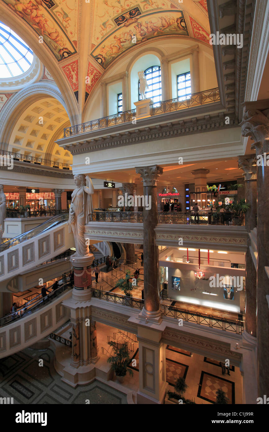 USA, Nevada, Las Vegas, The Forum Shops Stock Photo: 35437859 - Alamy