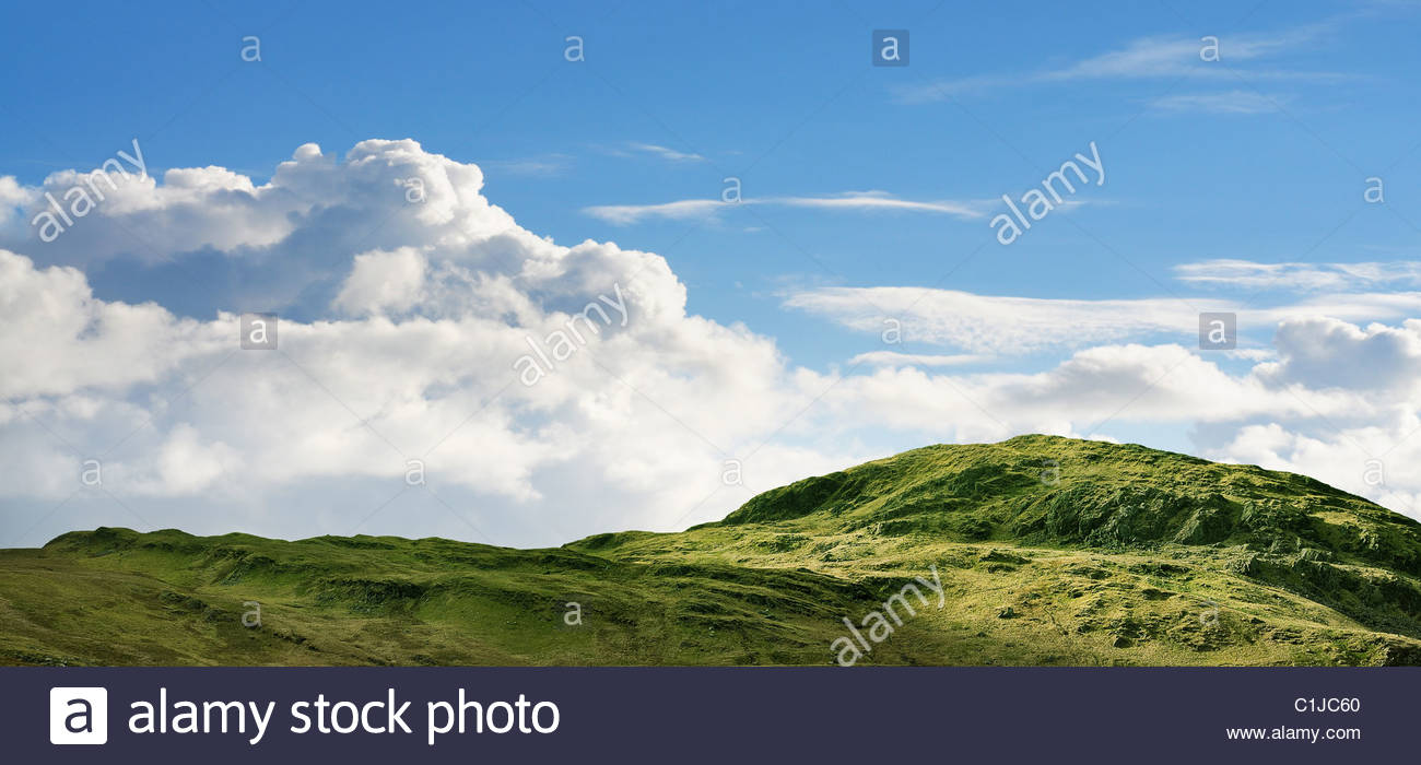 Rugged hill - Stock Image