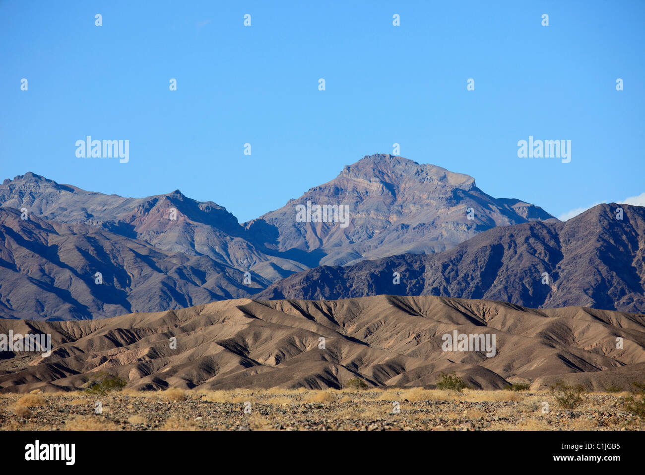 USA, California, Death Valley, National Park, Grapevine Mountains, - Stock Image