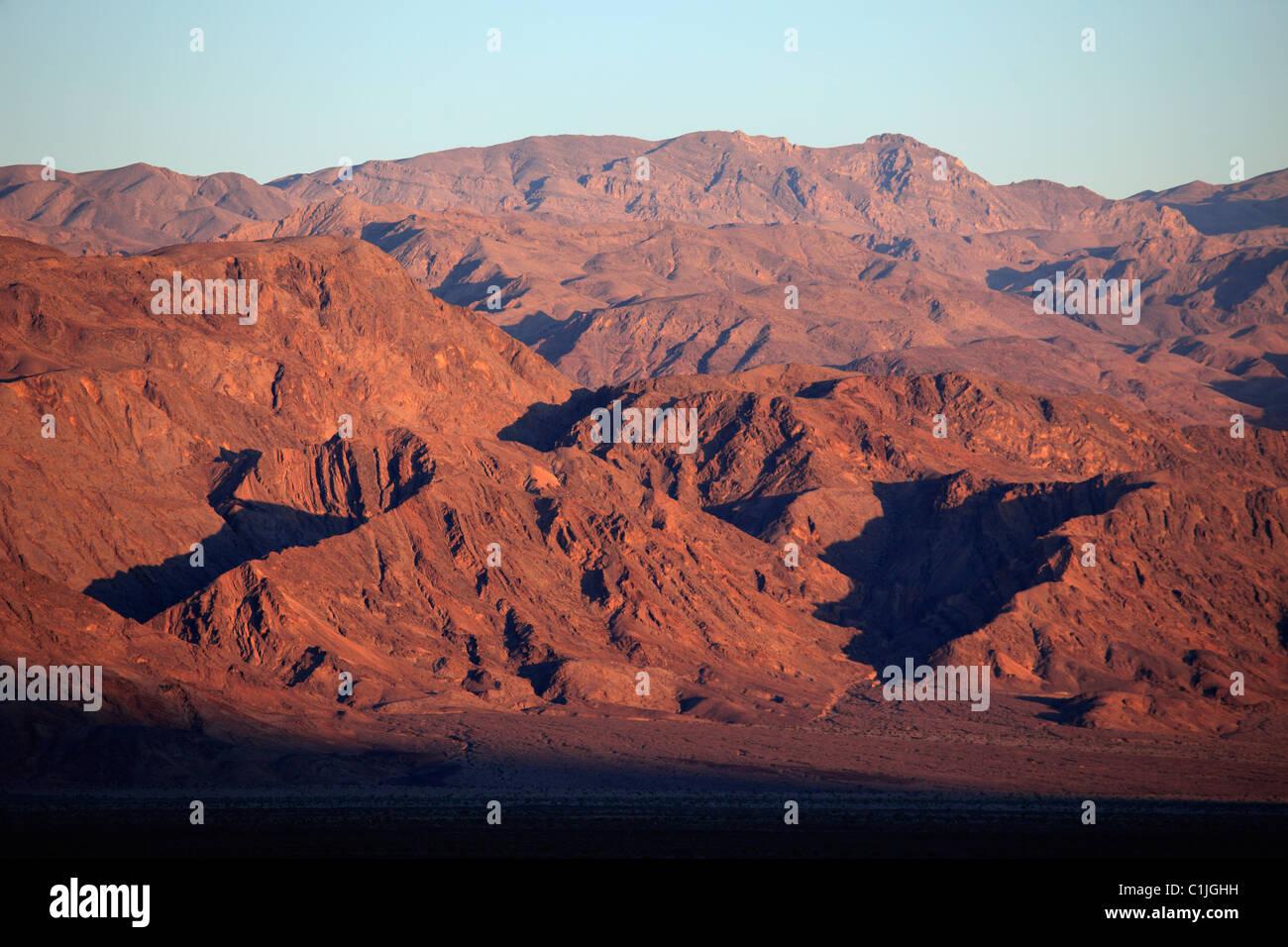 USA, California, Death Valley, National Park, Panamint Range, - Stock Image