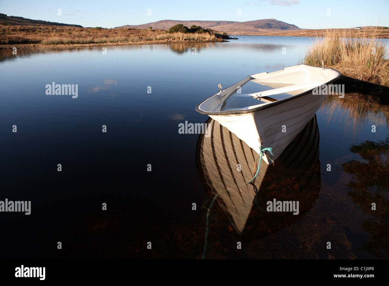 dunlewey lake - Stock Image