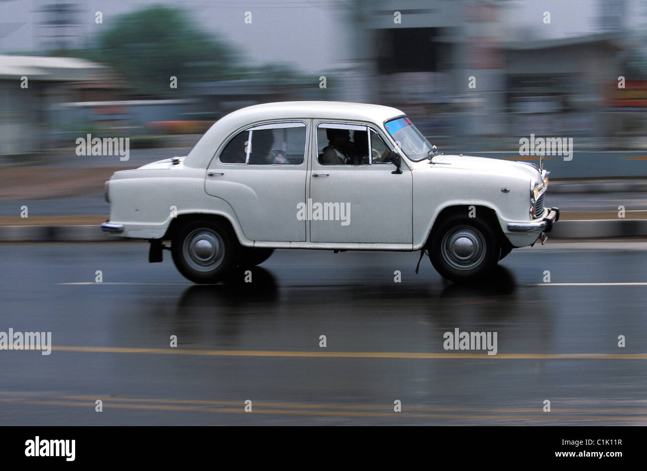 Ambassador Car High Resolution Stock ...