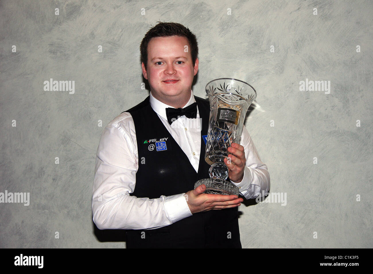 Shaun Murphy won the final of the inaugural Players Tour Championship with a 4-0 win over Martin Gould on Sunday - Stock Image