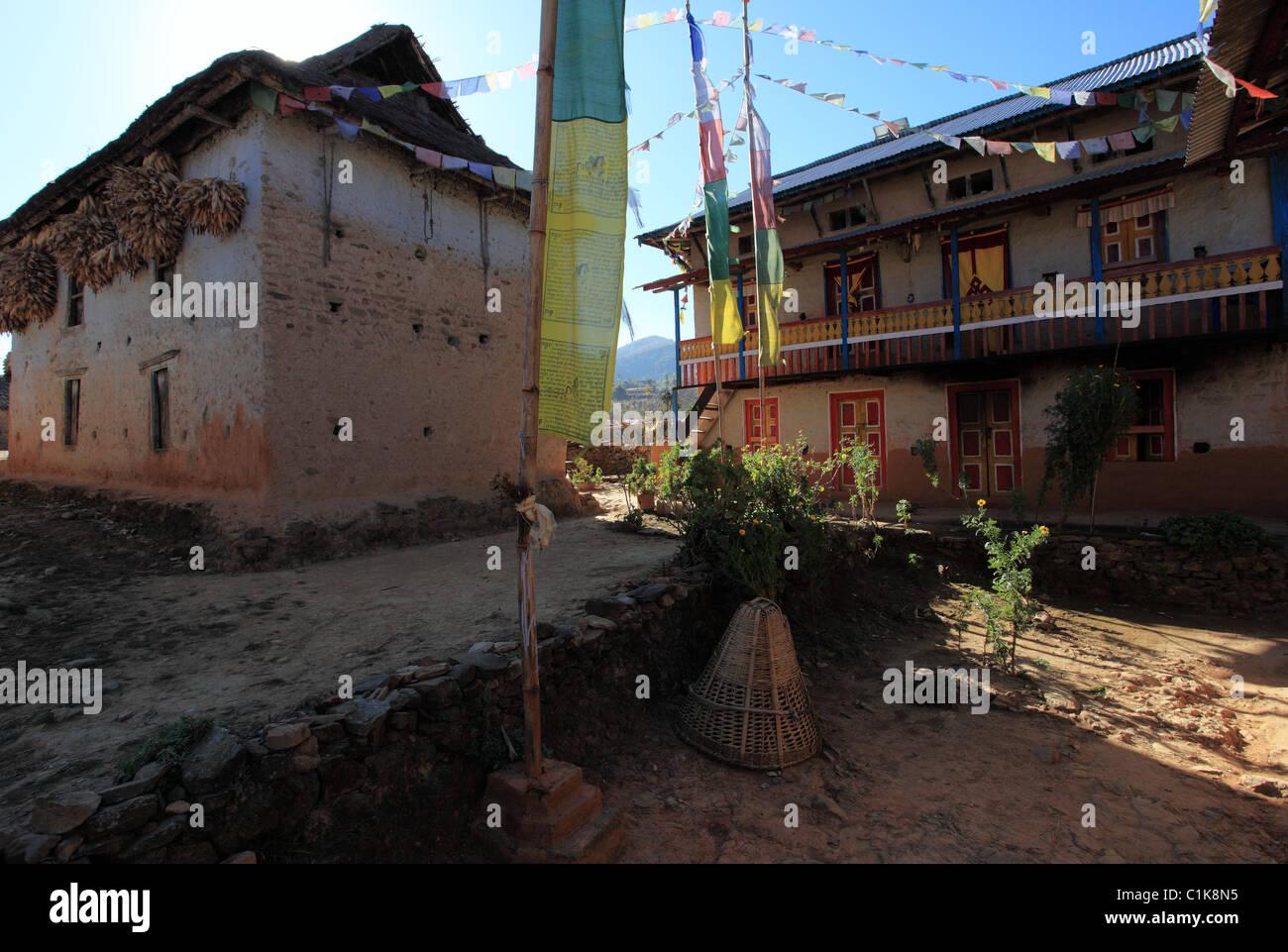 Nepali Flag Stock Photos & Nepali Flag Stock Images - Alamy