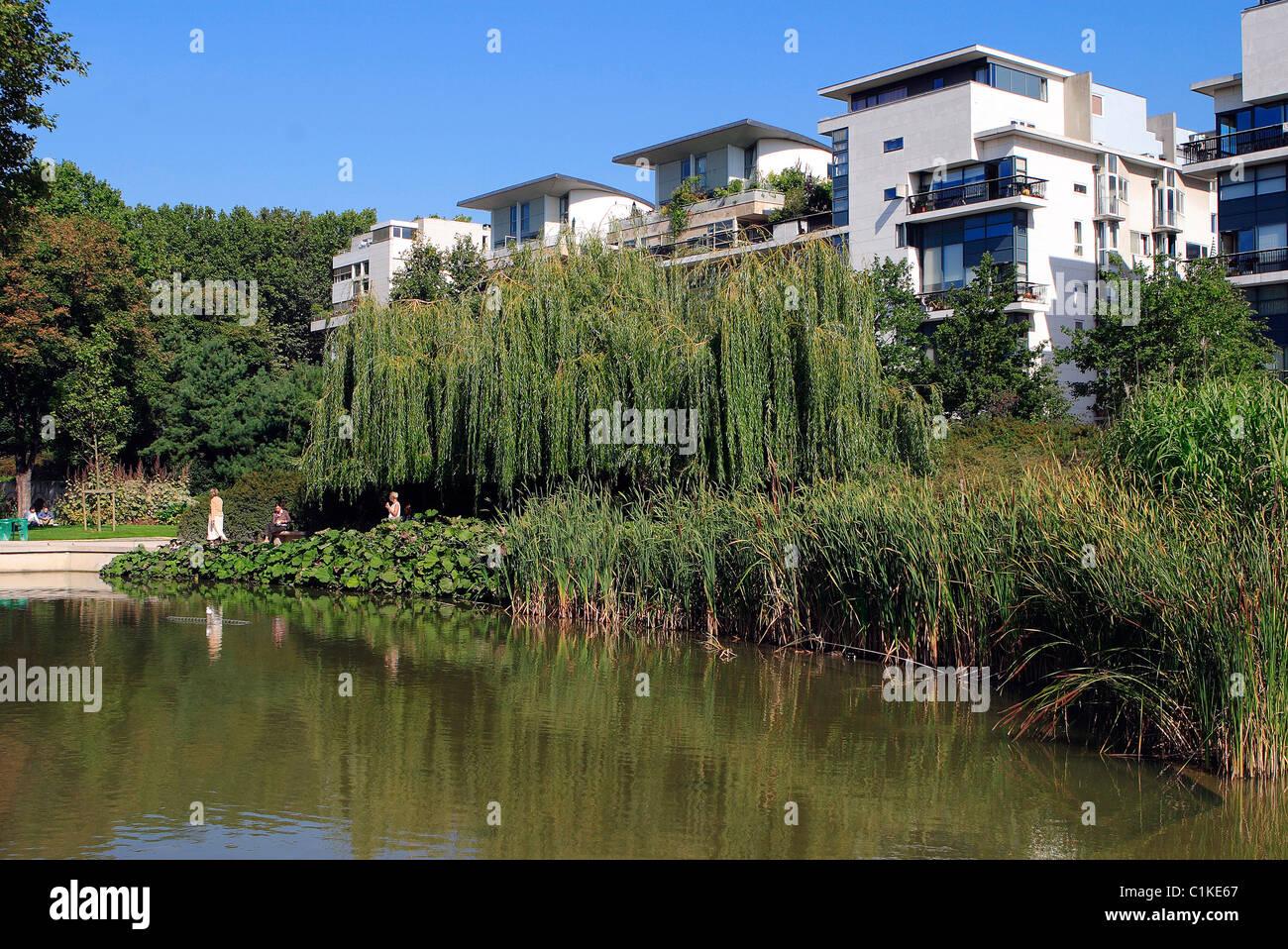 France, Paris, Park of Bercy - Stock Image