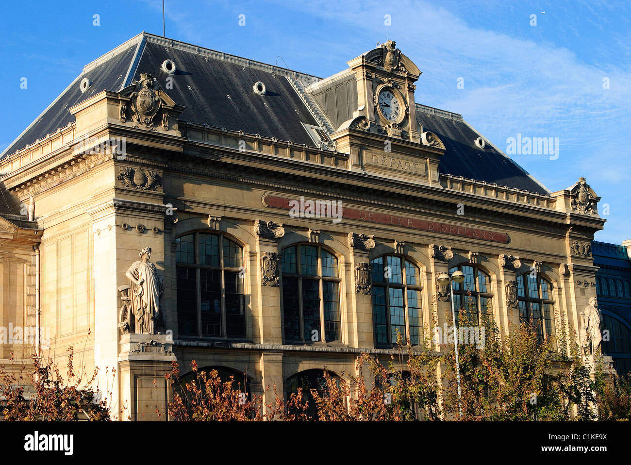 France, Paris, station of Austerlitz - Stock Image