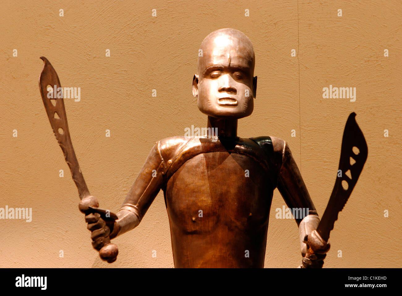 France, Paris, Museum of African arts Dapper - Stock Image