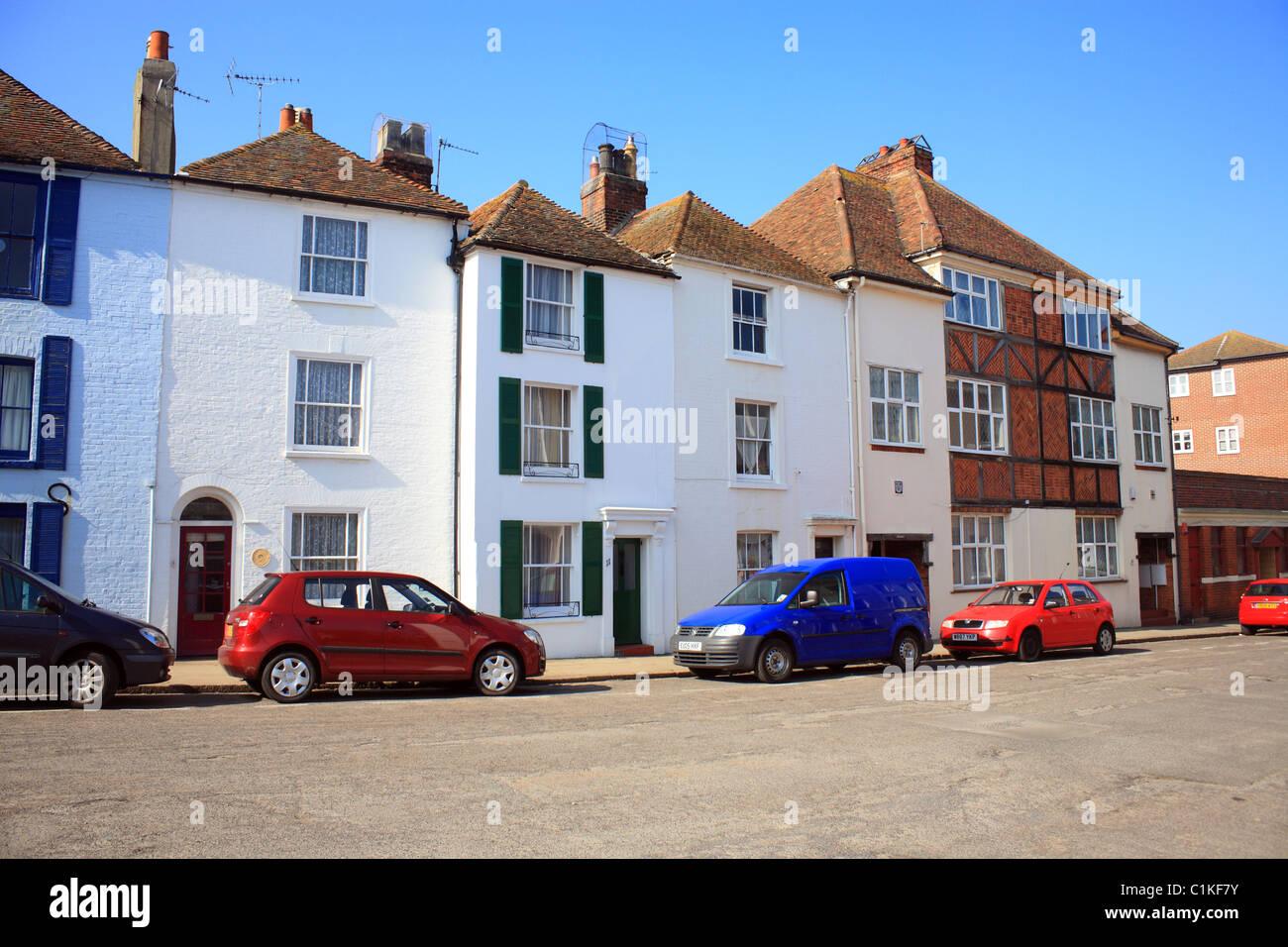 The Bayle, Folkestone, Kent, England, UK, Europe - Stock Image