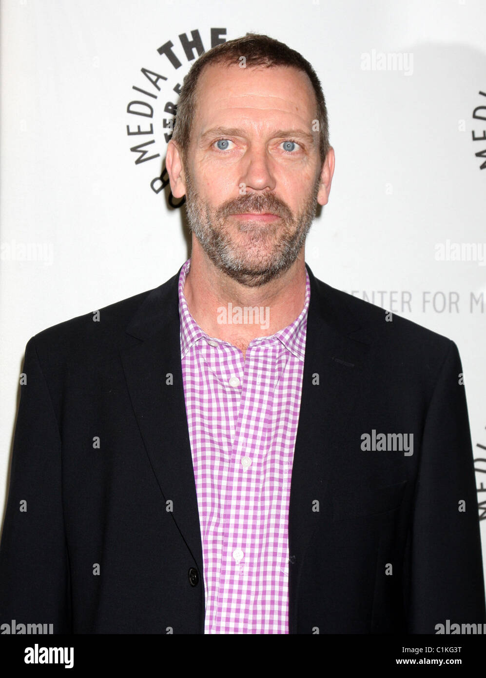 Hugh Laurie The Creative Process: Inside 'House' at The Paley Center for Media - Arrivals Los Angeles, California - Stock Image