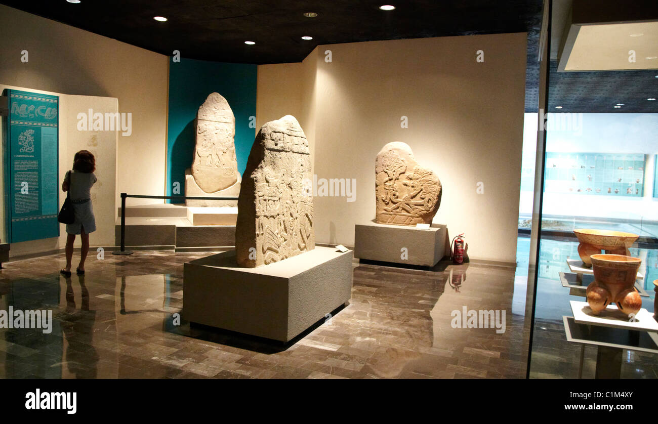 Anthropological Museum Mexico City - Stock Image