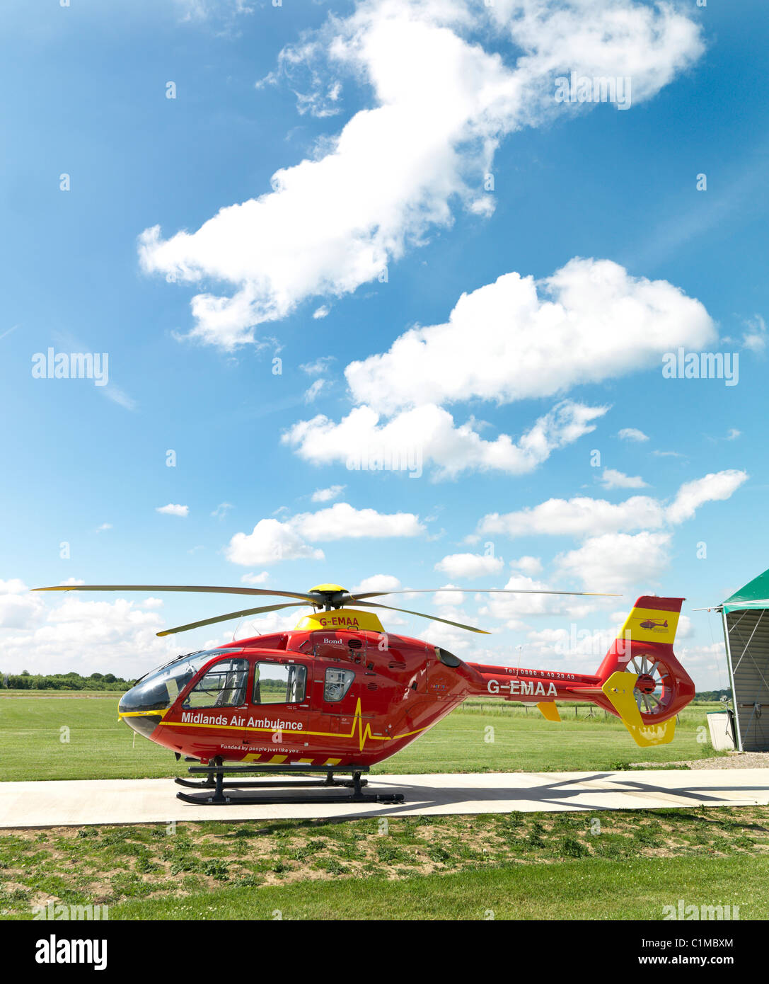 Air Ambulance RED - Stock Image