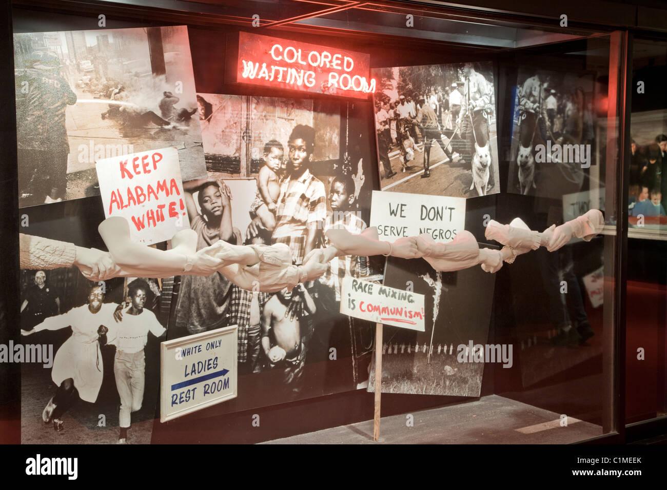 Civil Rights, integration, - Stock Image