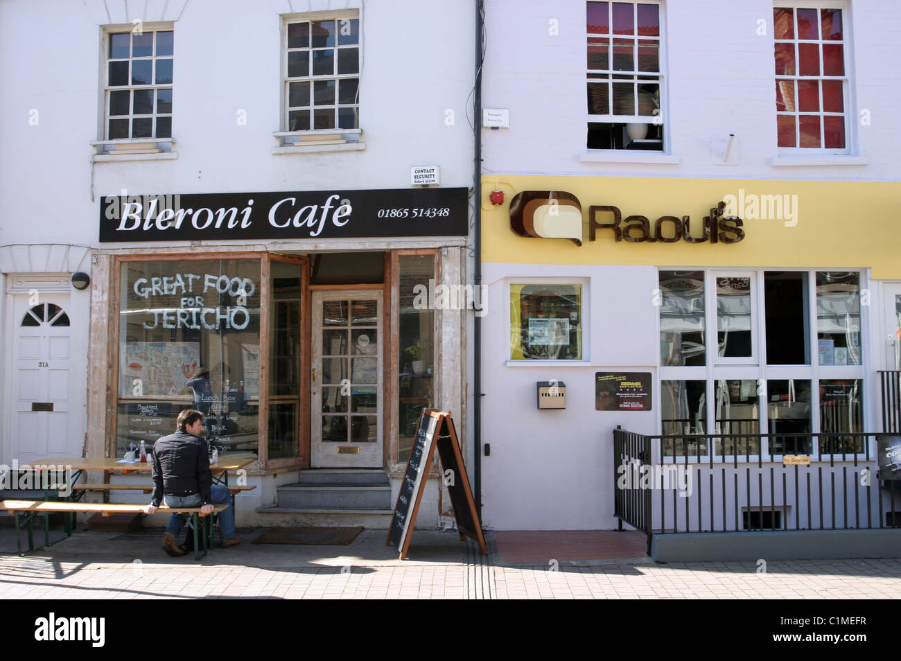 Bleroni Cafe, Jericho, Oxford - Stock Image