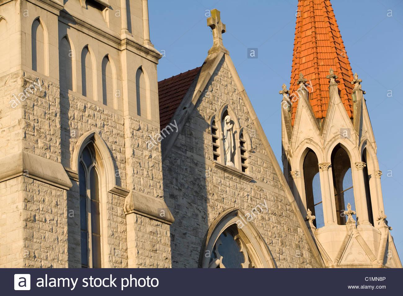 Immaculate Conception Catholic Church Jacksonville Florida Stock