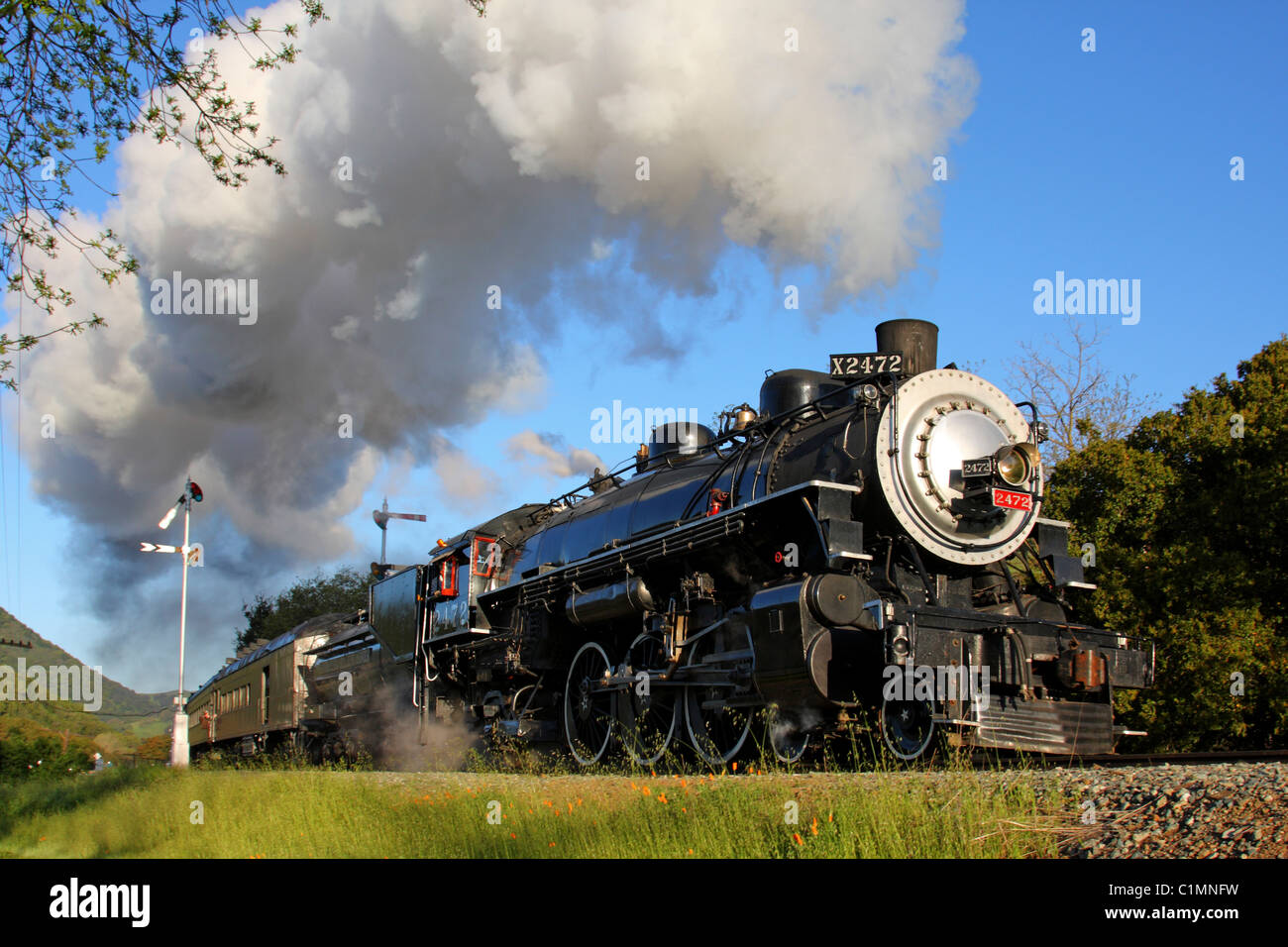 Southern Pacific Steam Locomotive #2472