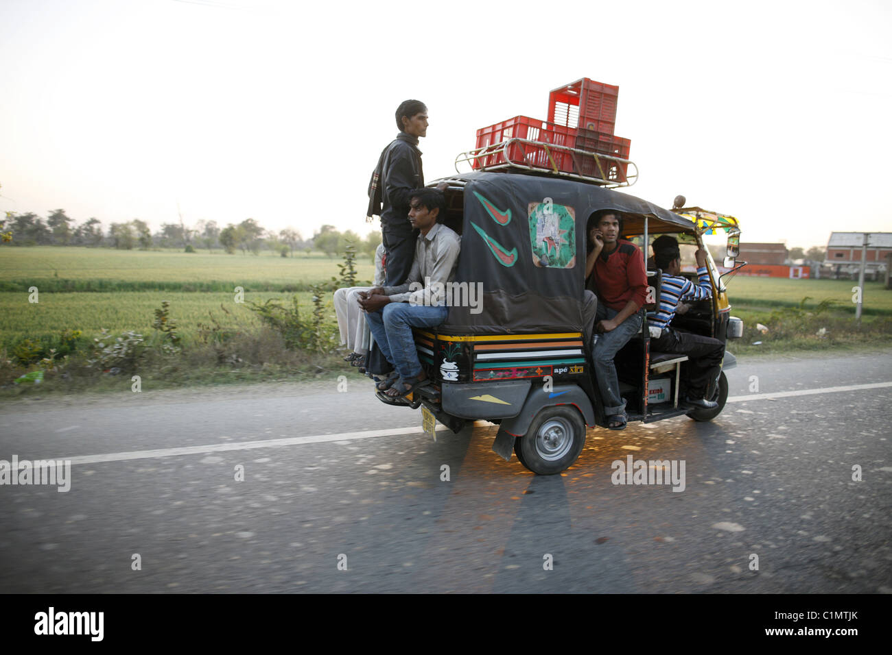 IND, India,20110310, TUKTUK - Stock Image