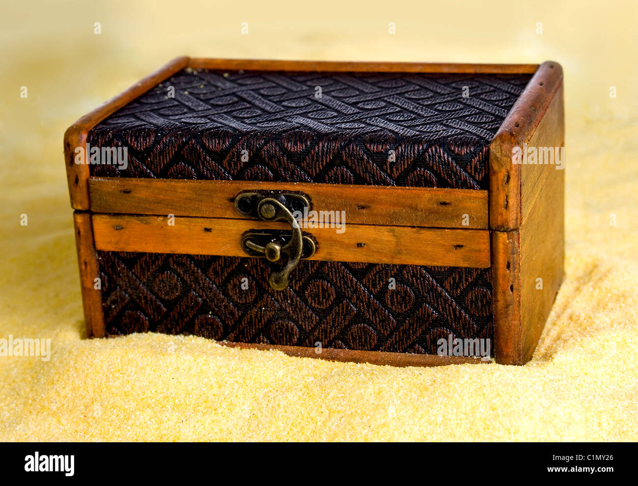 treasure chest - Stock Image