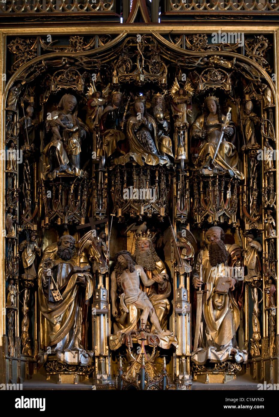 Südtirol, Schatterpeck-Altar - Stock Image
