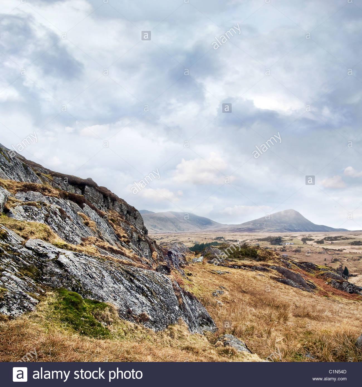 Mountain view - Stock Image