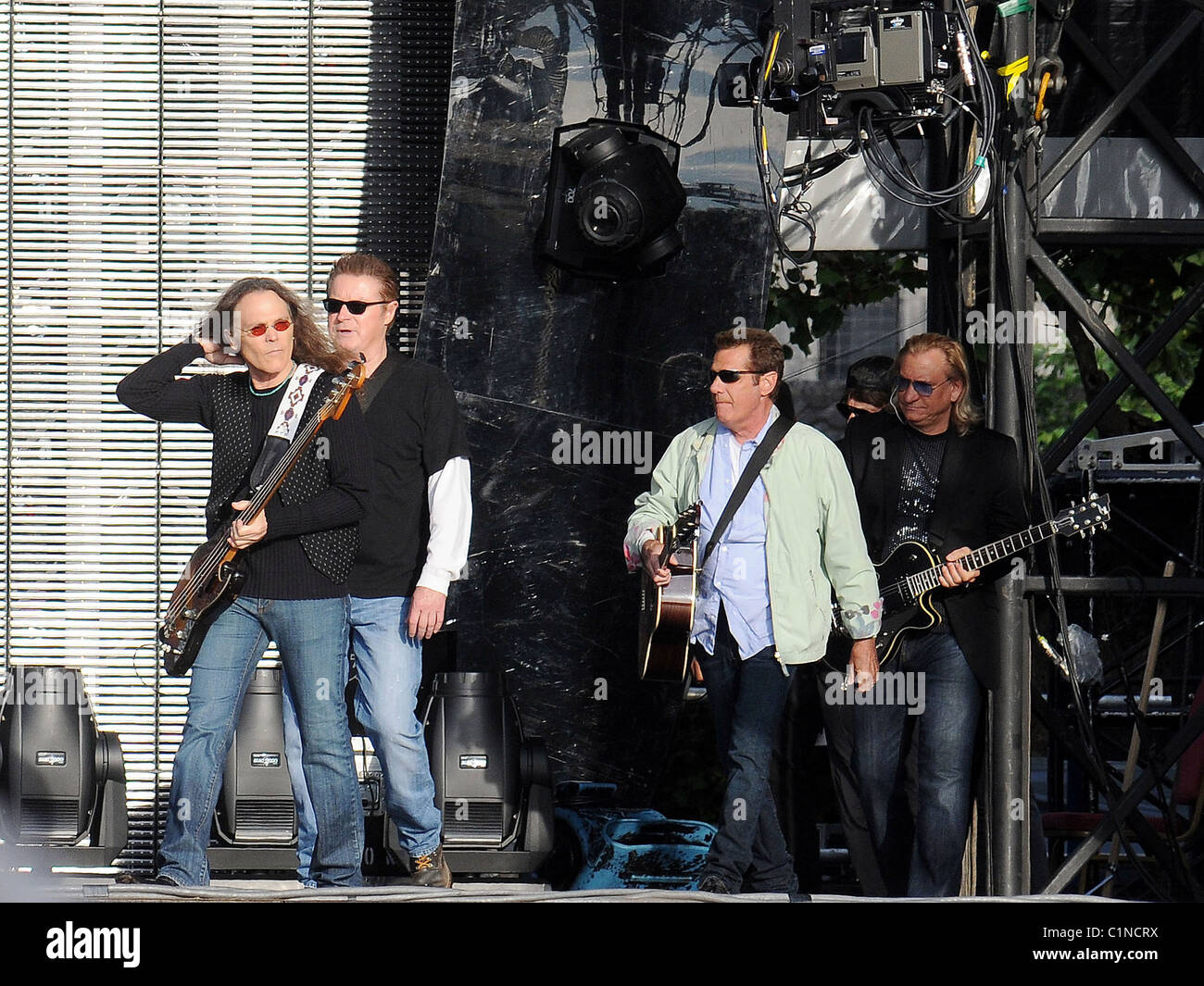 Timothy Schmit Eagles Performing In Stock Photos & Timothy
