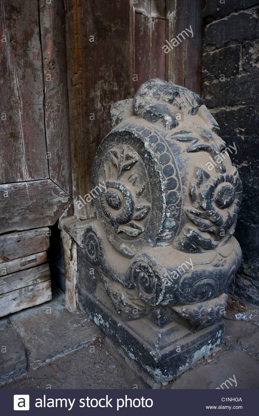Beijing, hutong, Mendun, China - Stock Image