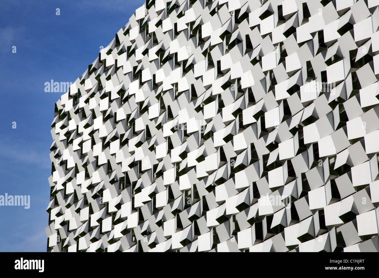 Cheese Grater Modern Architecture Sheffield South Yorkshire England - Stock Image