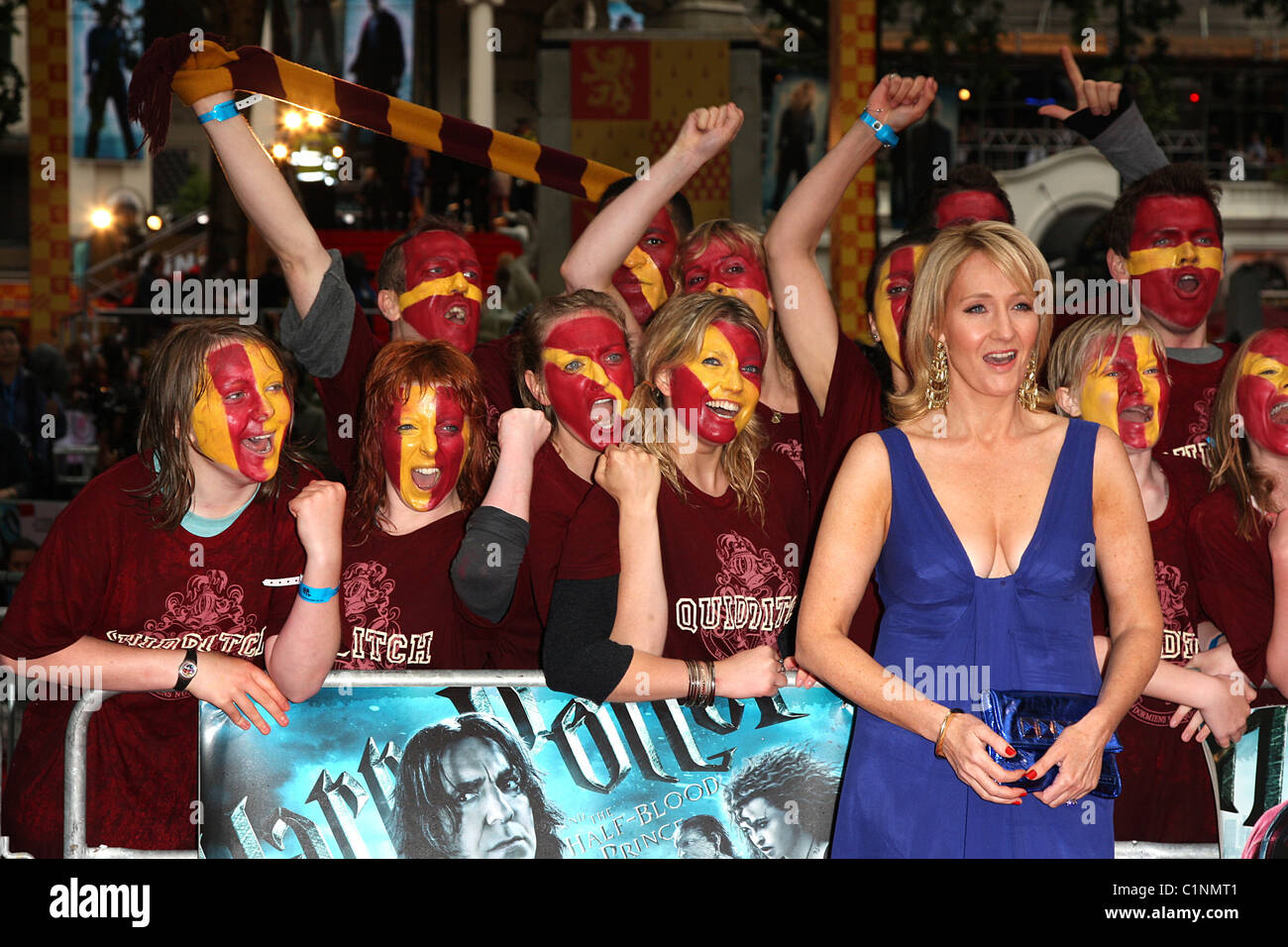 15f652d61e1e J.K. Rowling with Harry Potter fans World Premiere of Harry Potter And The Half  Blood Prince at the Empire Leicester Square