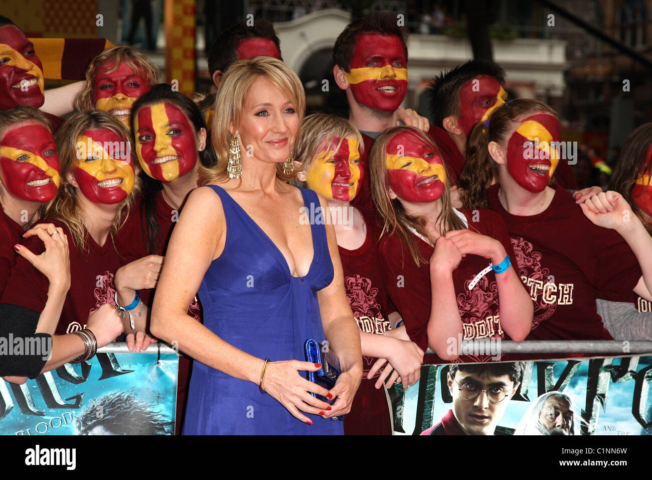 de51ac6b658b J.K. Rowling World Premiere of Harry Potter And The Half Blood Prince at  the Empire Leicester Square cinema - arrivals London