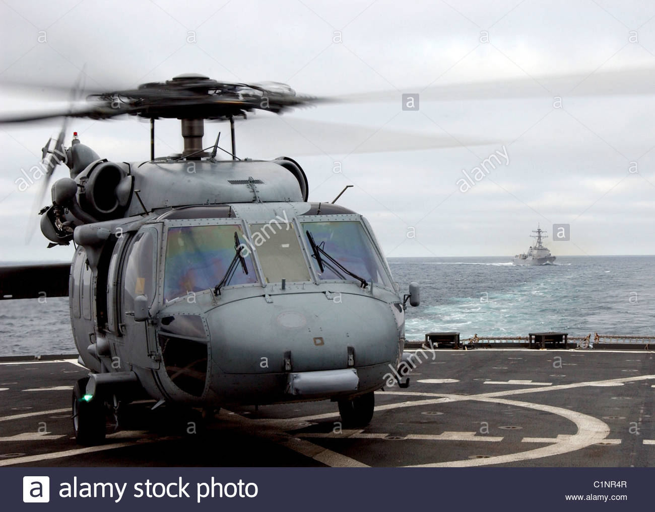 MH-60S Seahawk helicopter - Stock Image