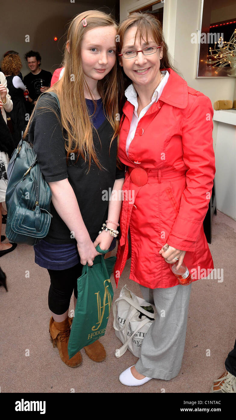 Pauline McLynn and Ruby McLynn Amy Huberman launches her new