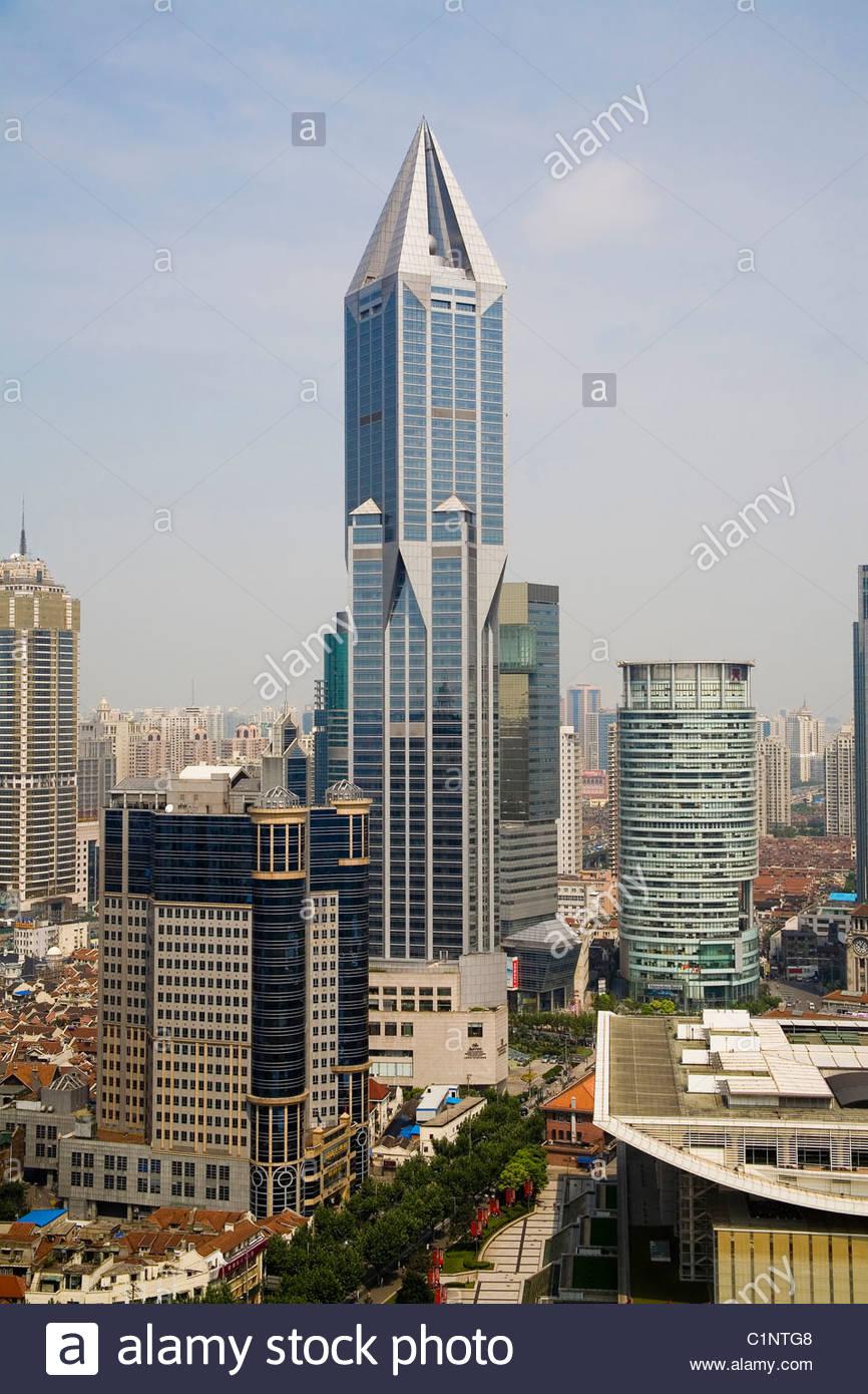 Shanghai, Tomorrow Square, China - Stock Image