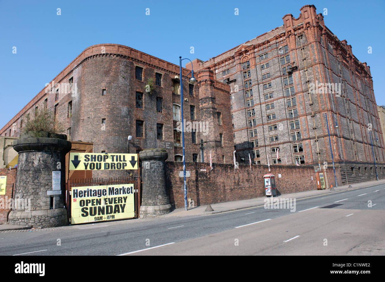 Stanley Dock Tobacco Warehouse, Stanley Dock, Liverpool, England, UK Stock Photo