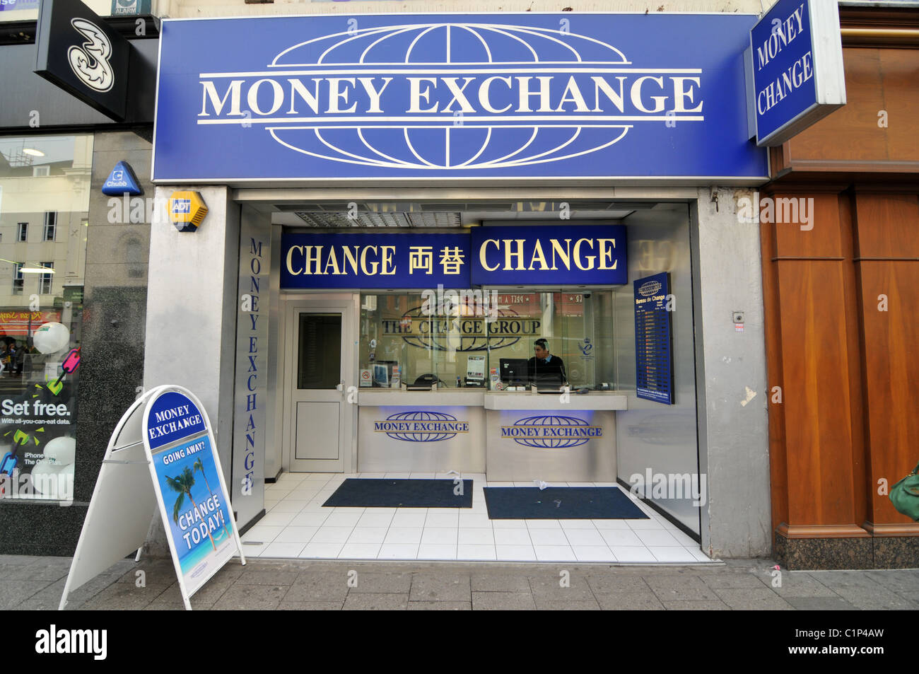 Money exchange cambio bureau de change travel cash money - Comparateur de bureau de change ...