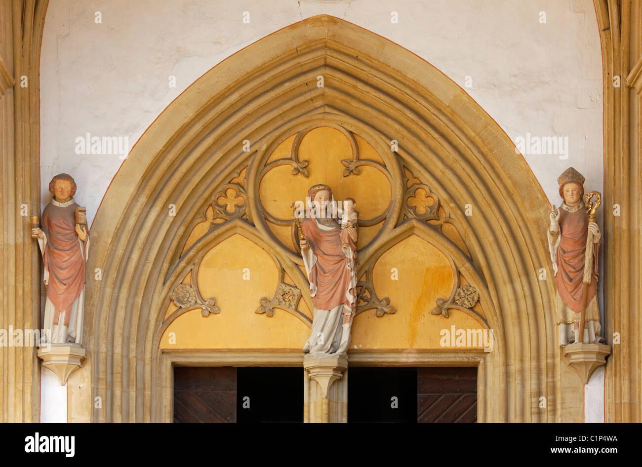 Münstermaifeld, Stiftskirche St. Martin und St. Severus - Stock Image