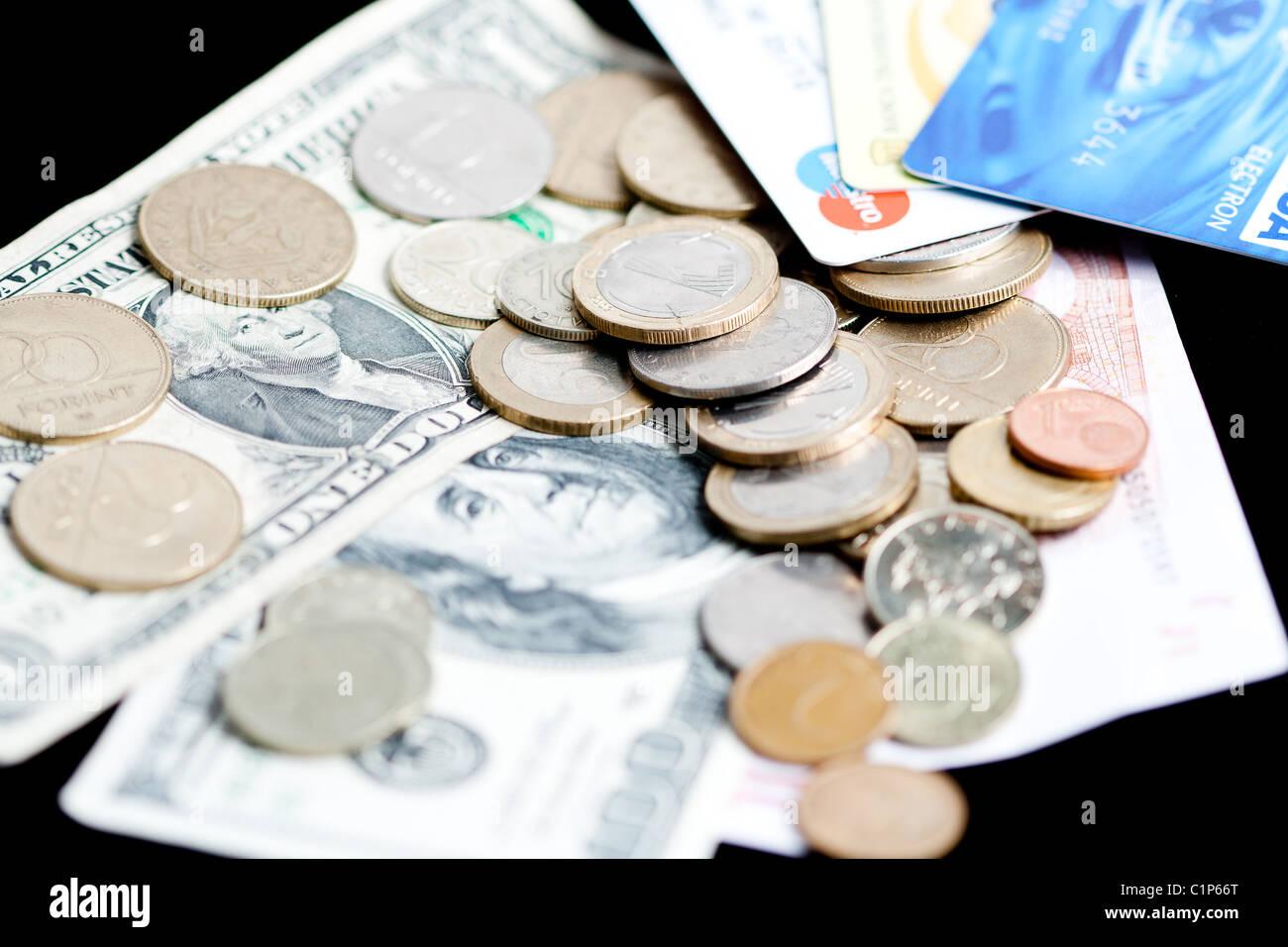 plastic money has replaced paper money