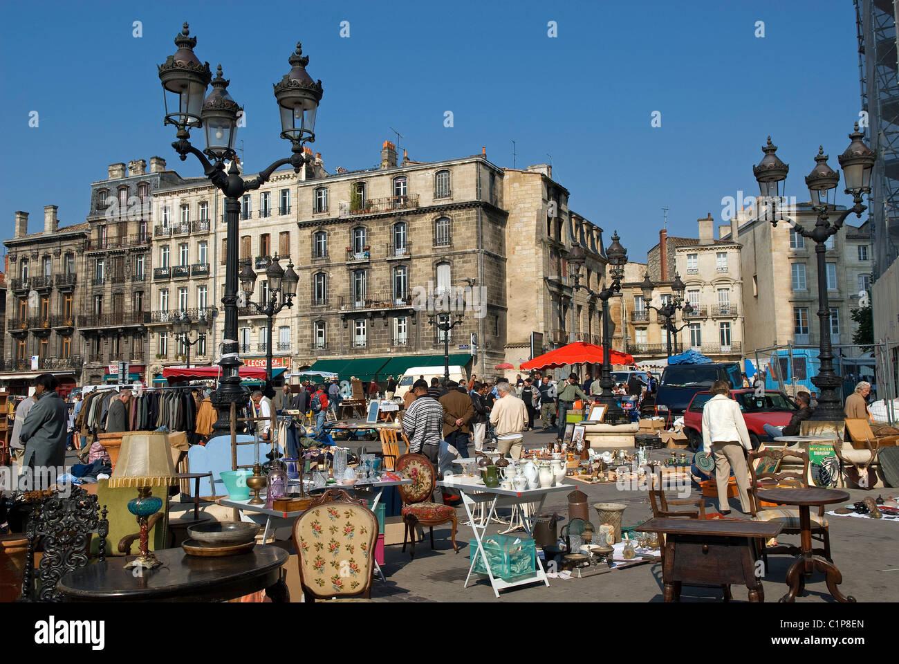 France, Gironde, Bordeaux, Saint Michel District, second ...