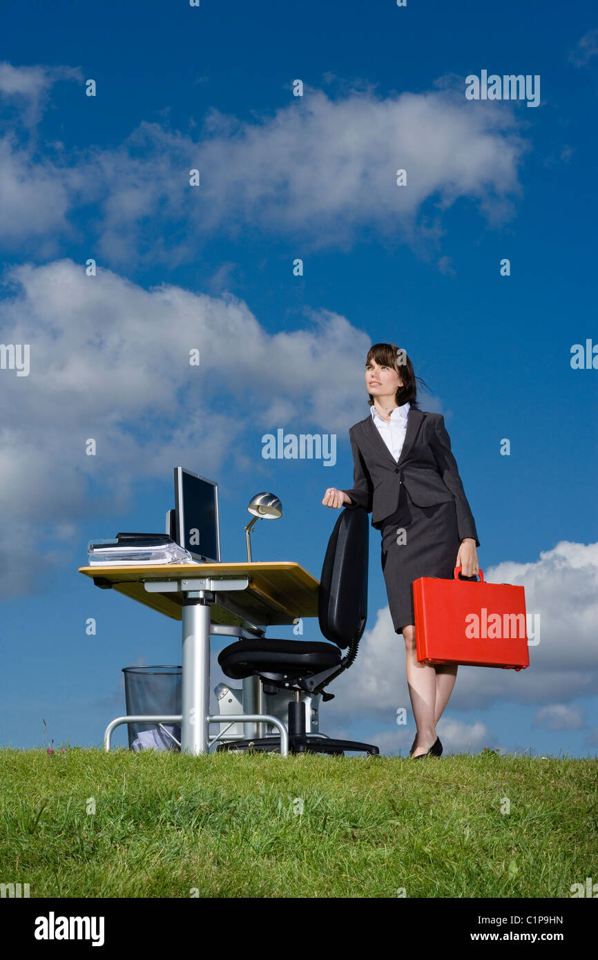 Red Desk Lamp Stock Photos & Red Desk Lamp Stock Images - Alamy