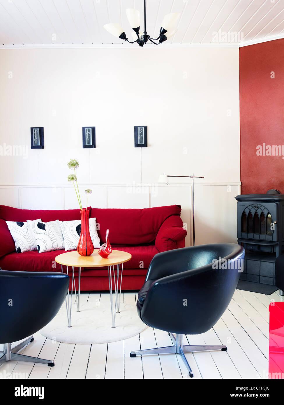 Modern lounge design - Stock Image