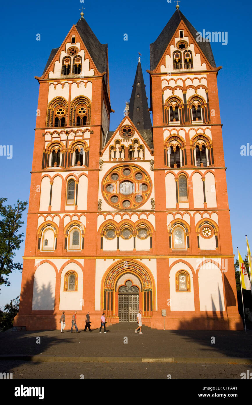 Germany, Limburg, Saint George's Cathedral - Stock Image